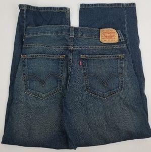 Levi's boys 12 Husky jeans 569